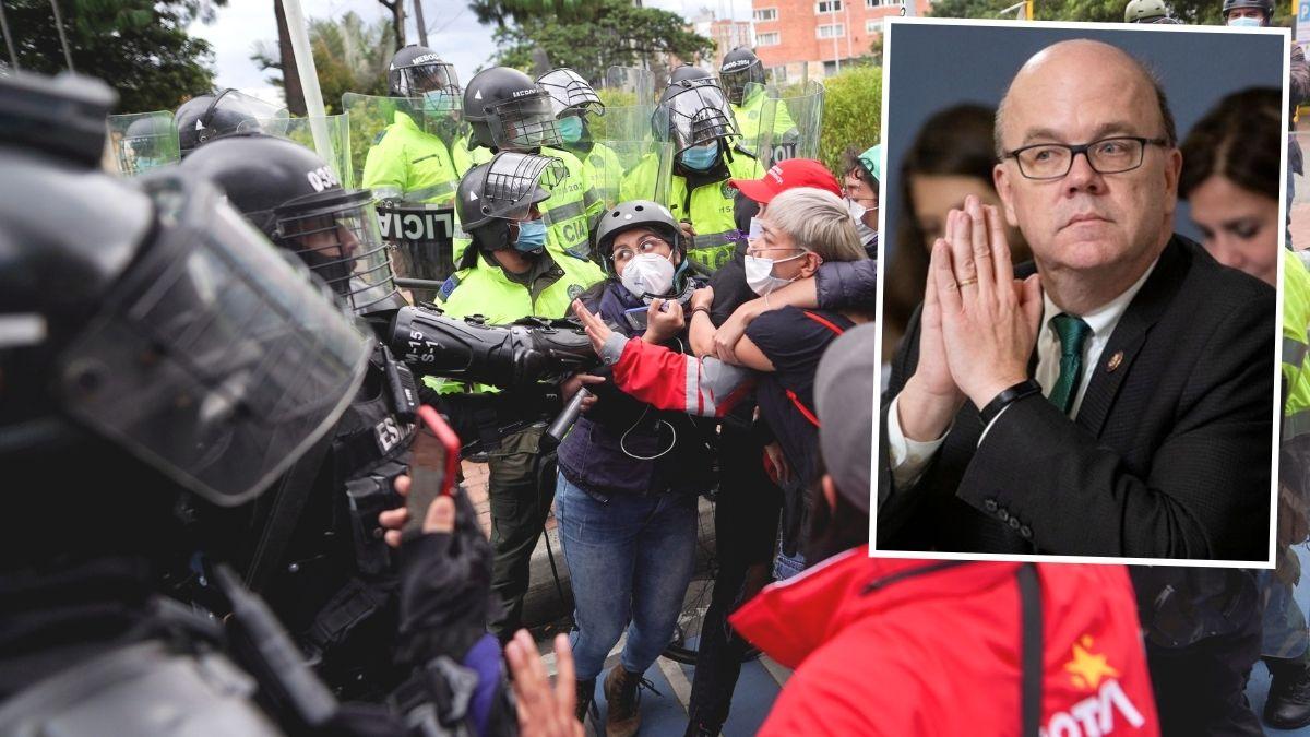 Se aprobó condicionar ayuda de EEUU a Policía de Colombia