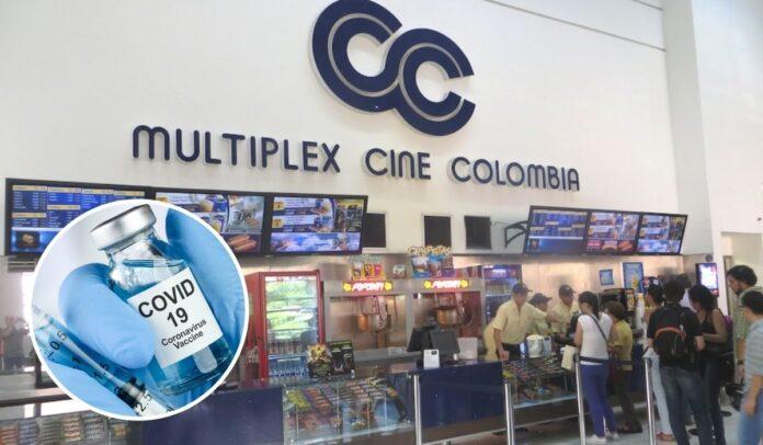 Vacunación a empleados de Cine Colombia