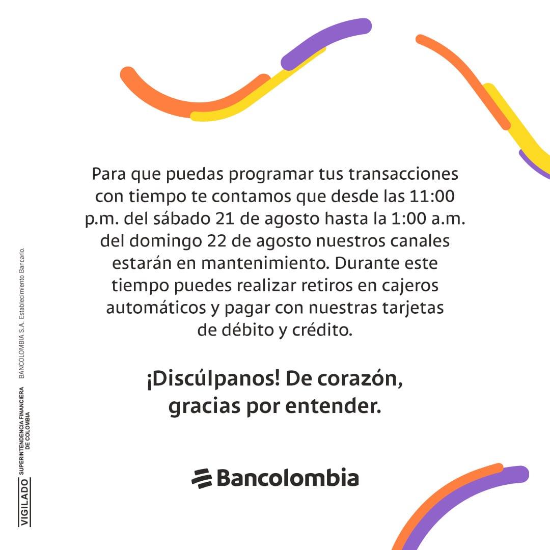 Fuente: Bancolombia.