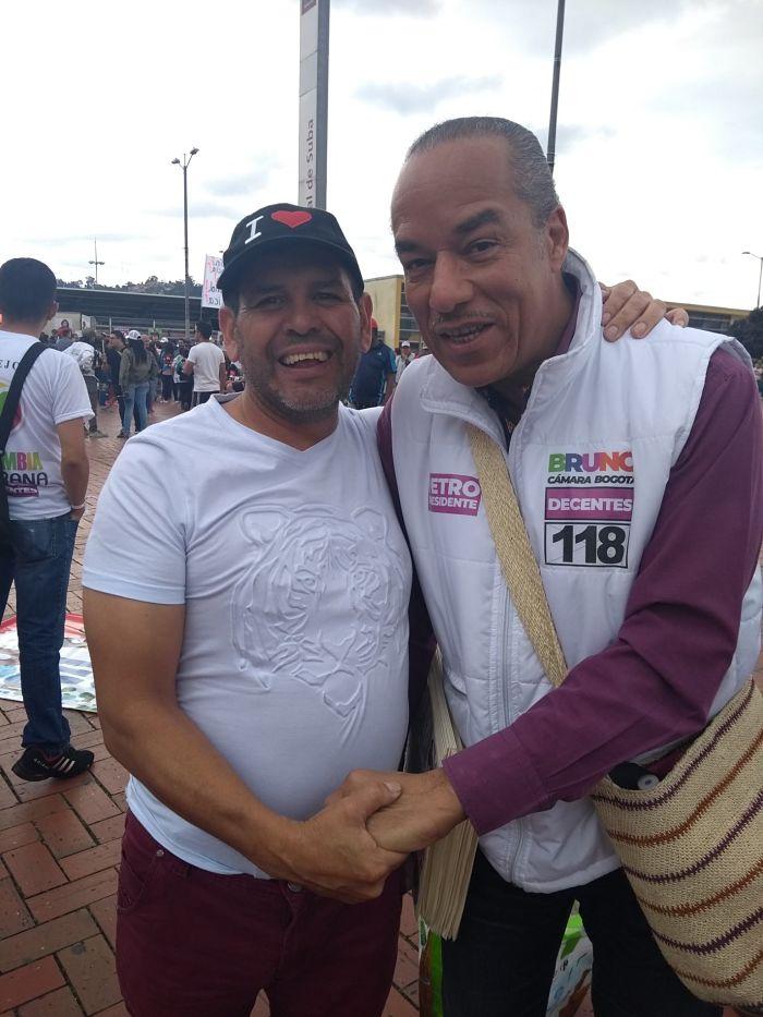Bruno Díaz, candidato por la lista de La Decencia