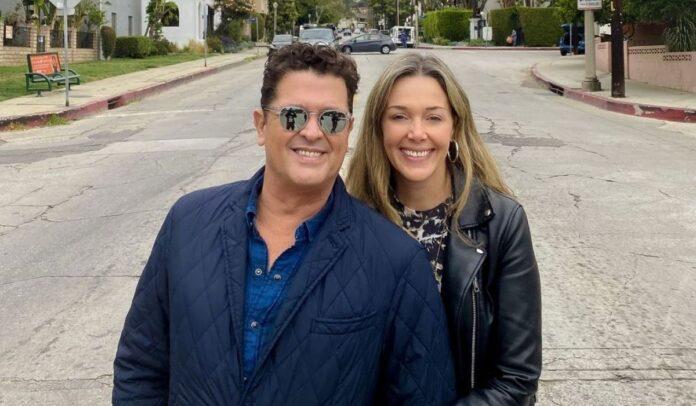 Claudia Elena Vásquez y Carlos Vives