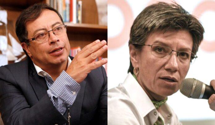 Crítica de Gustavo Petro a Claudia López