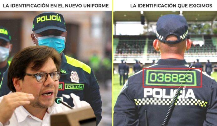 Diego Cancino exige nueva identificación para policías