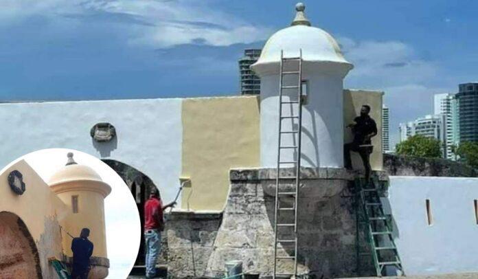 El Club de Pesca y su ignorante daño al patrimonio de Cartagena