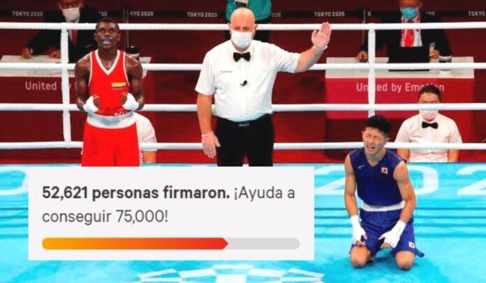El Comité Olímpico Colombiano presentó ante el Tribunal Arbitral del Deporte, TAS, un recurso legal contra la decisión adoptada por los jueces en la pelea que disputó el colombiano Yuberjen Martínez en Juegos Olímpicos de Tokyo