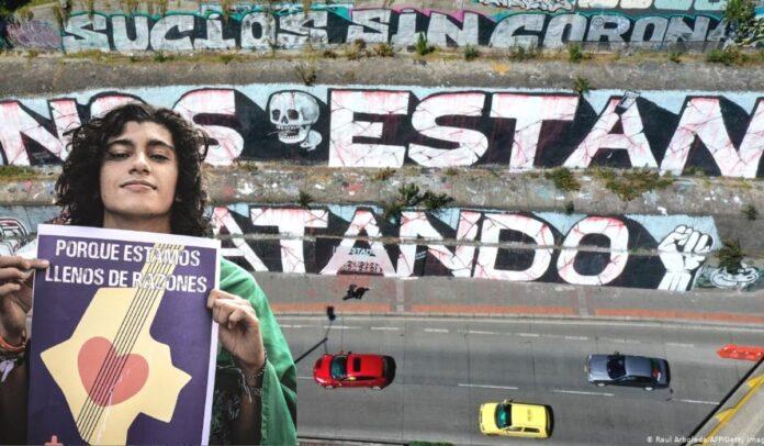 Jóvenes son amenazados de muerte en Colombia