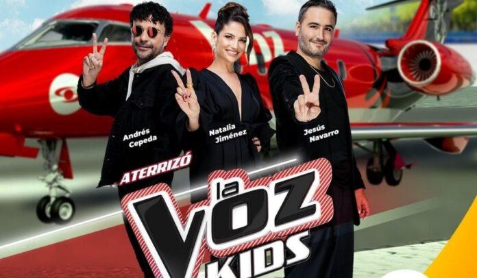 Jurados de La Voz Kids