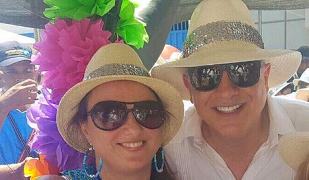 Karen Abudinen y Christian Daes. Foto El Heraldo