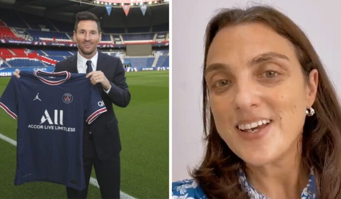 Lionel Messi Karen Abudinen