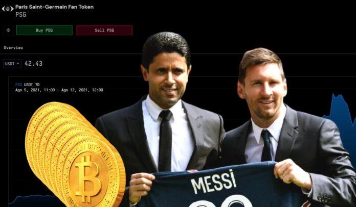 Lionel Messi llegó al PSG gracias a las inversiones en criptomonedas