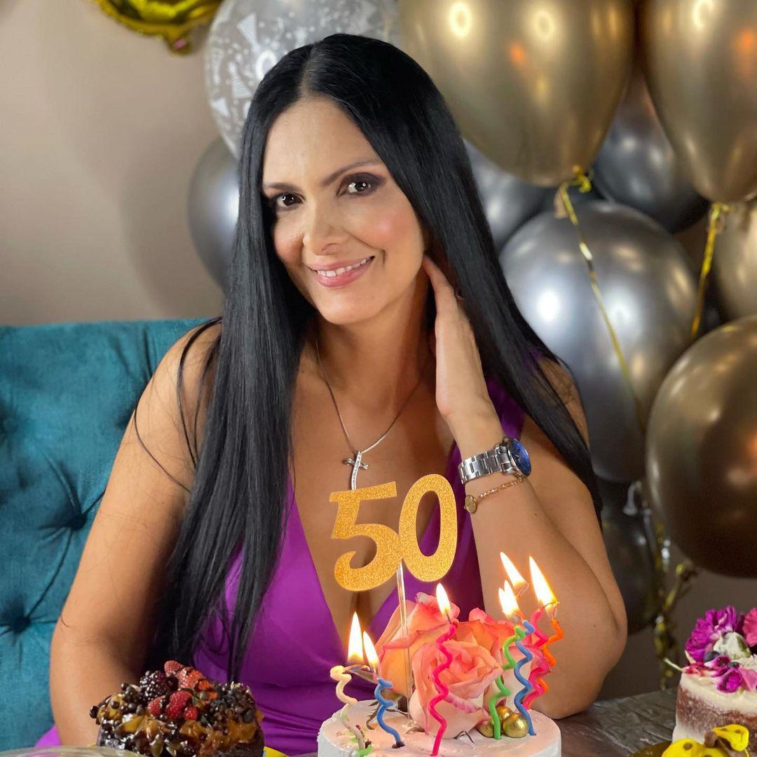 Marcela Posada cumplió 50 años el 10 de febrero de 2021