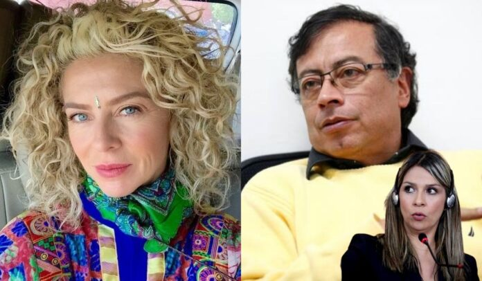 Margarita Rosa felicita a Petro por no ir a Semana