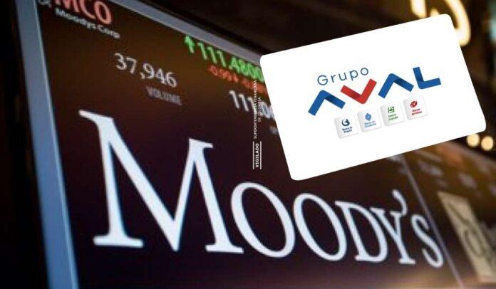 Moody's Investor Services mejoró la perspectiva de calificación de negativa a estable del Grupo Aval.