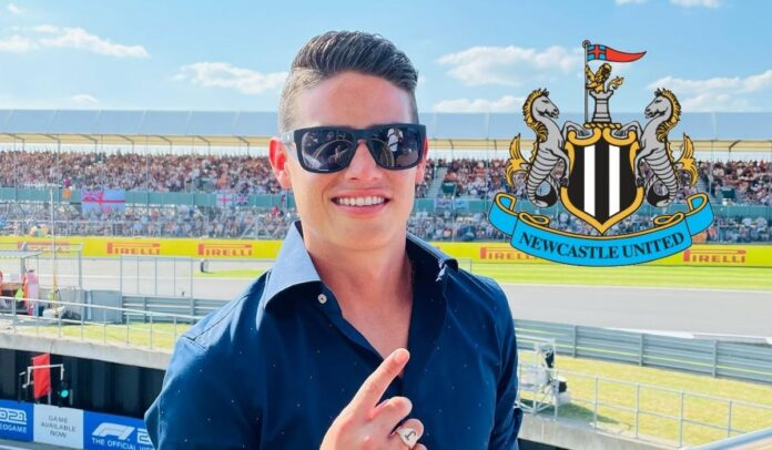 Newcastle interesado en James Rodríguez