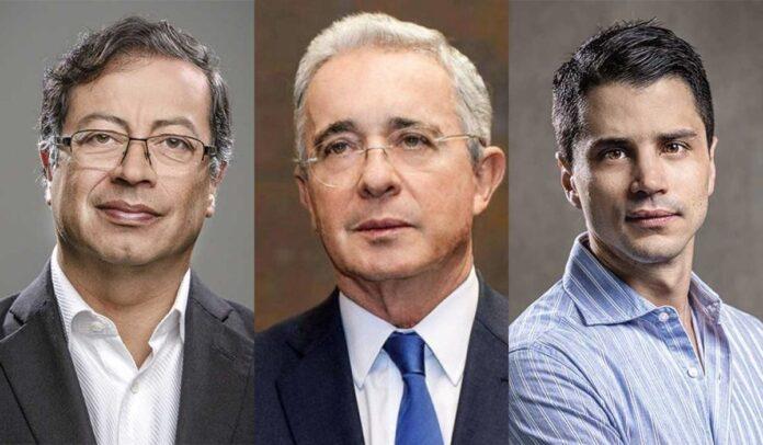 Petro arremete contra Álvaro y Tomás Uribe