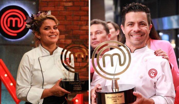 Piter Albeiro y Adriana Lucía, ganadores de MasterChef Celebrity