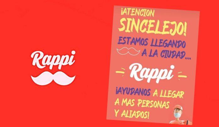 Rappi, la aplicación colombiana llega a Sincelejo