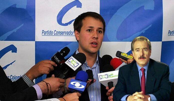 Santiago Pastrana Puyana, hijo de Andrés Pastrana