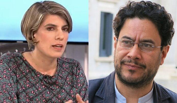 Sara Tufano apoya a Iván Cepeda