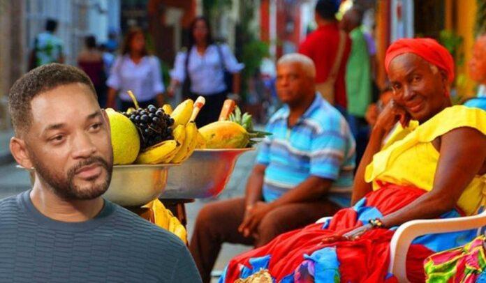 Se perdió donación de Will Smith a vendedores ambulantes de Cartagena