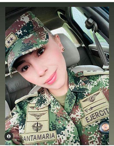 Teniente Santamaría / Fuente: Twitter