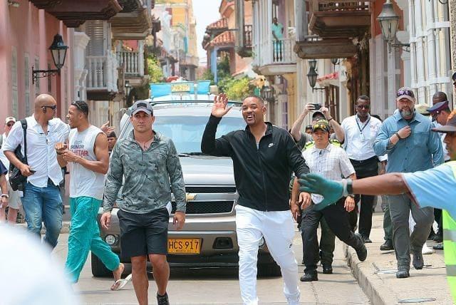 Will Smith en Cartagena.