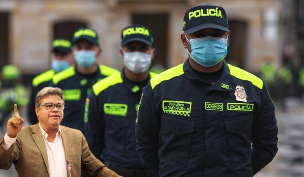 Wilson Arias exige publicar costos del cambio de imagen de la Policía