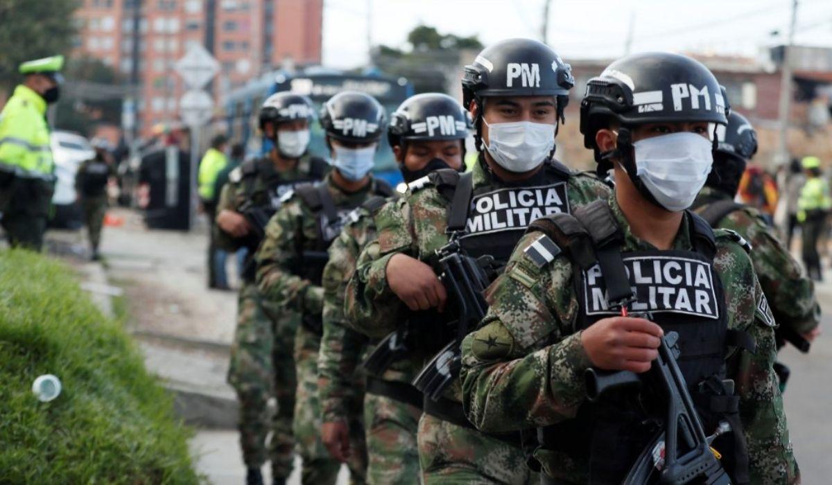 Alcaldesa pide presencia de Policía Militar en Bogotá