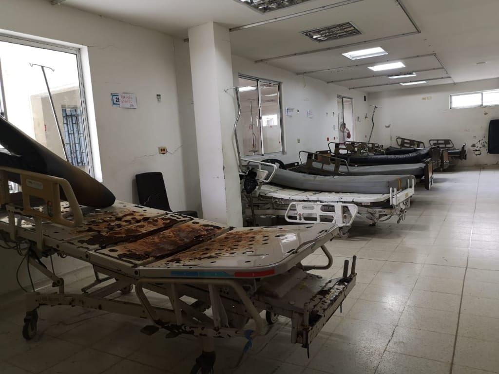 Así está el Hospital San Francisco de Asís de Chocó.