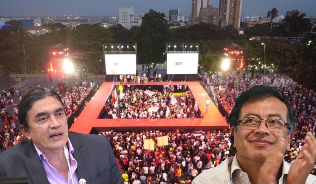 Bolívar sobre evento de Petro en Barranquilla