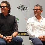 Carlos Vives y su hemano Guillo Vives