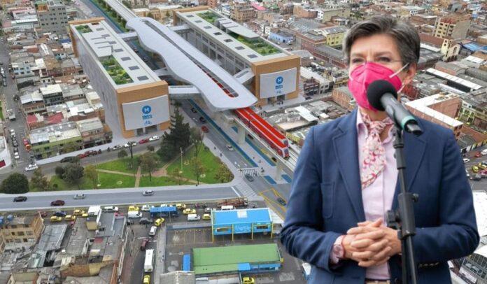 Claudia López sobre el Metro de Bogotá