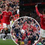 Cristiano Ronaldo marcó su segundo debut en el Manchester United con dos goles ante el Newcastle