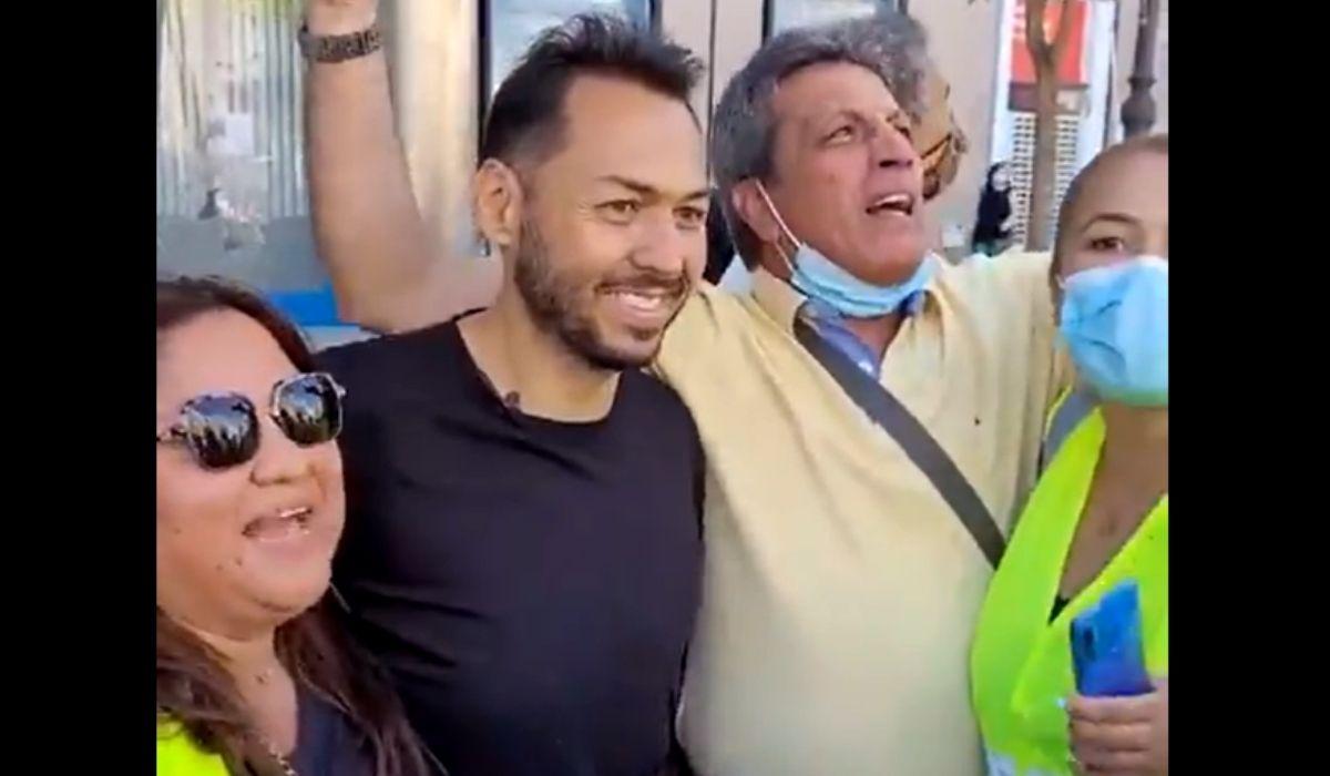 Daniel Mendoza en Madrid