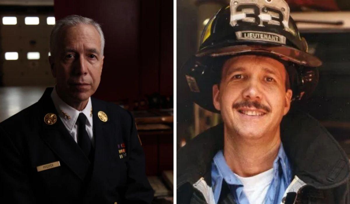El hermano de Joe, Kevin Pfeifer, de 42 años, fue uno de los 343 bomberos que no salieron con vida del World Trade Center