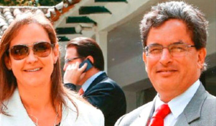 Elena Parra y su esposo Alberto Carrasquilla