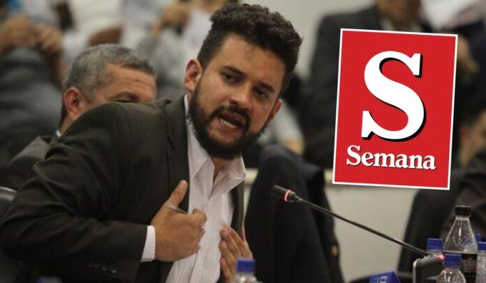 Inti Asprilla desmiente a Revista Semana