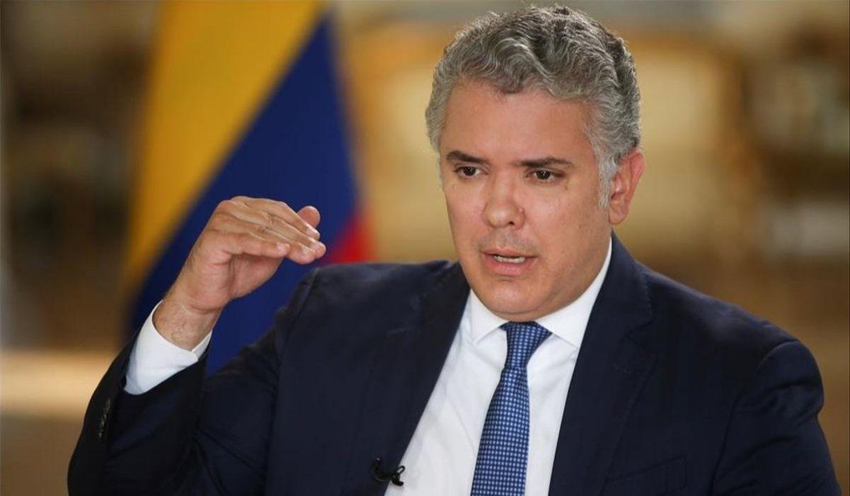 Iván Duque en Madrid.