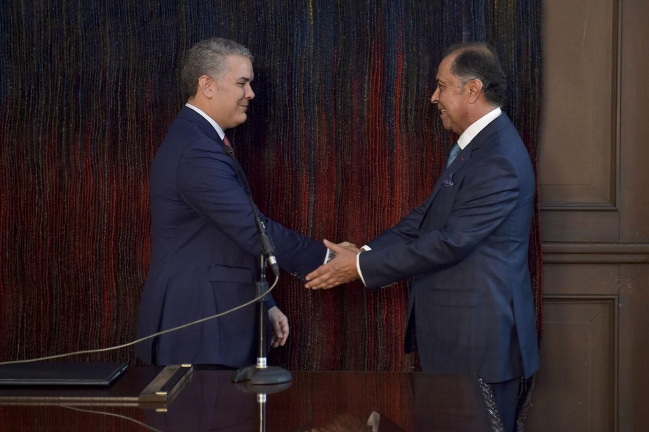 Iván Duque y Álvaro Pava Camelo.