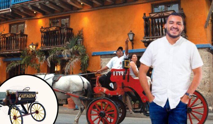 Javier Julio Bejarano apuesta por los coches eléctricos turísticos en Cartagena