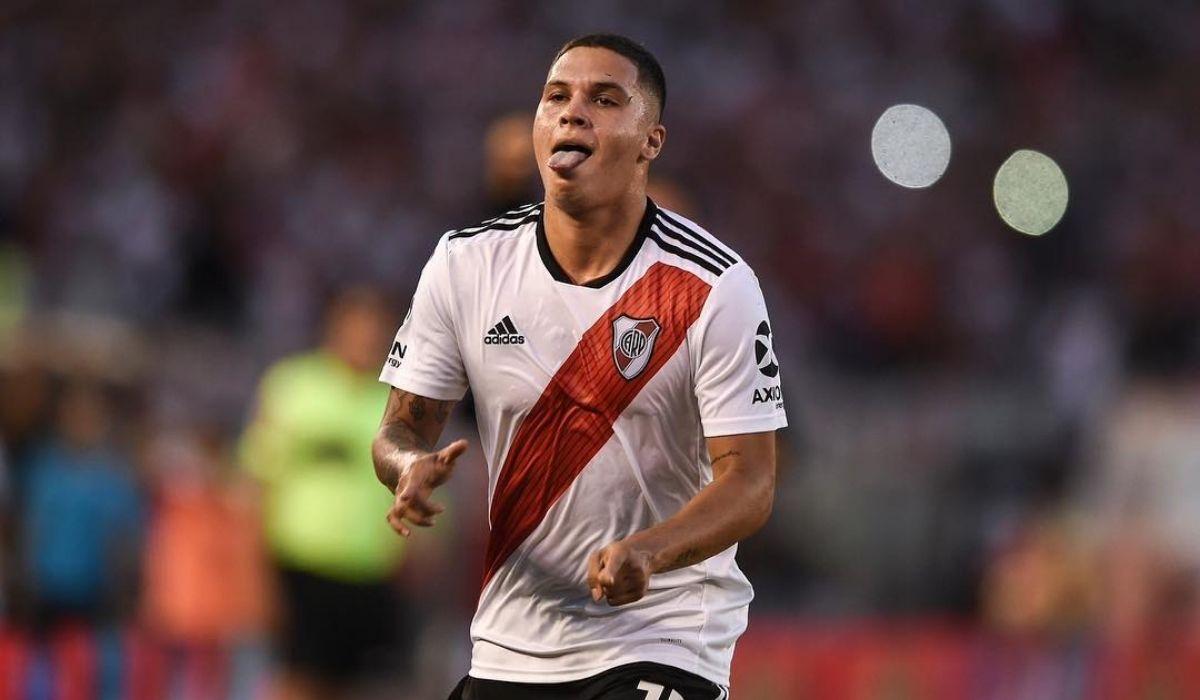 Juanfer Quintero de regreso a River Plate