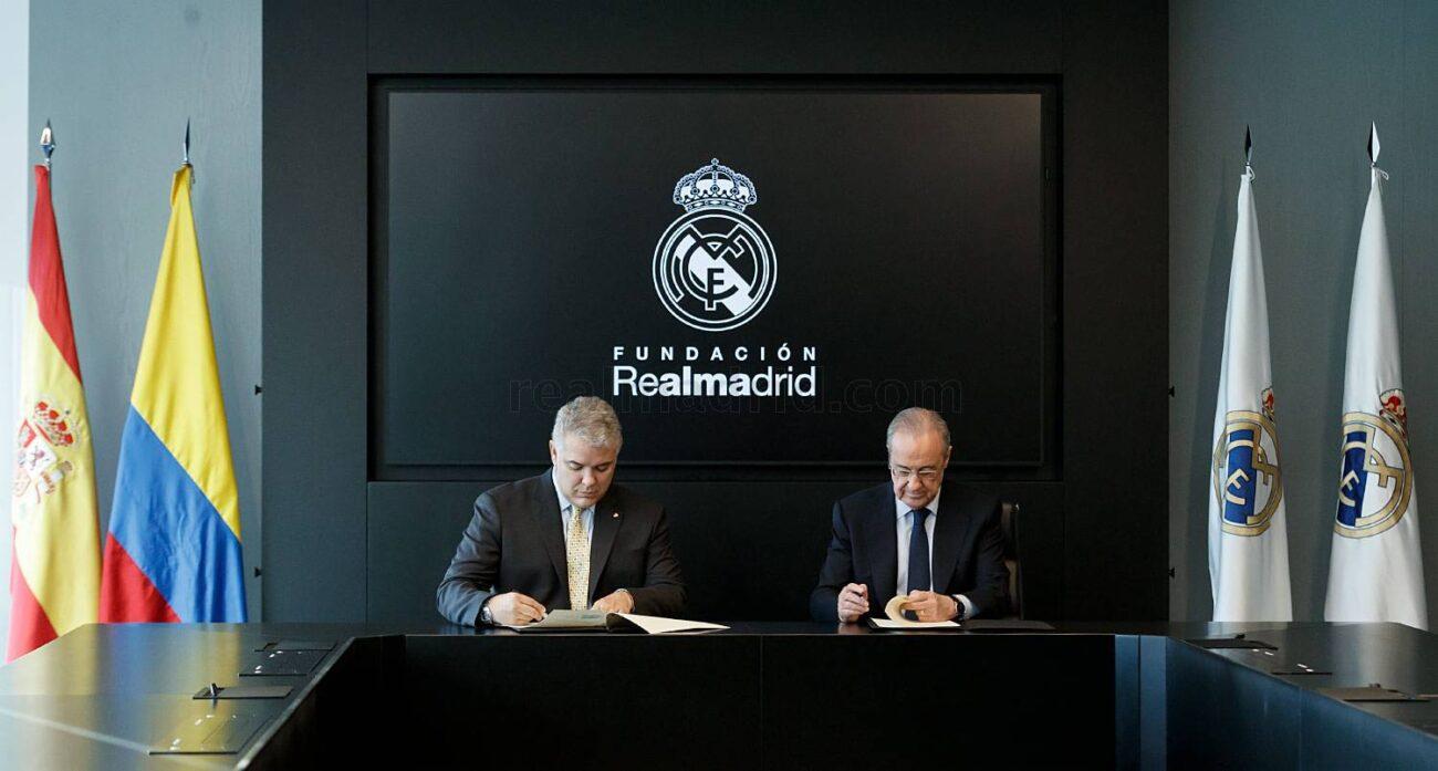 LaFundación Real Madriddesarrollaproyectos en Colombiadesde 2008.