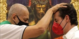 La bendición a Juan Manuel Galán