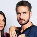Livia Brito y Daniel Arenas en Médicos, Línea de Vida