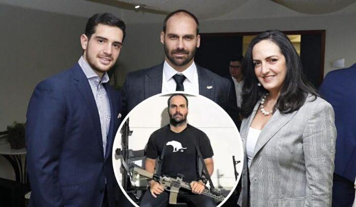 María Fernanda Cabal reunida con los terroristas de la derecha mundial