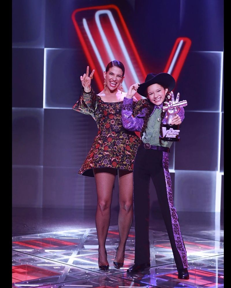 María Liz Patiño y su entrenadora Natalia Jiménez