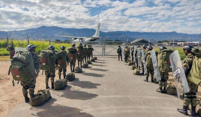 Miembros del Ejército Nacional pertenecientes a una banda delincuencial