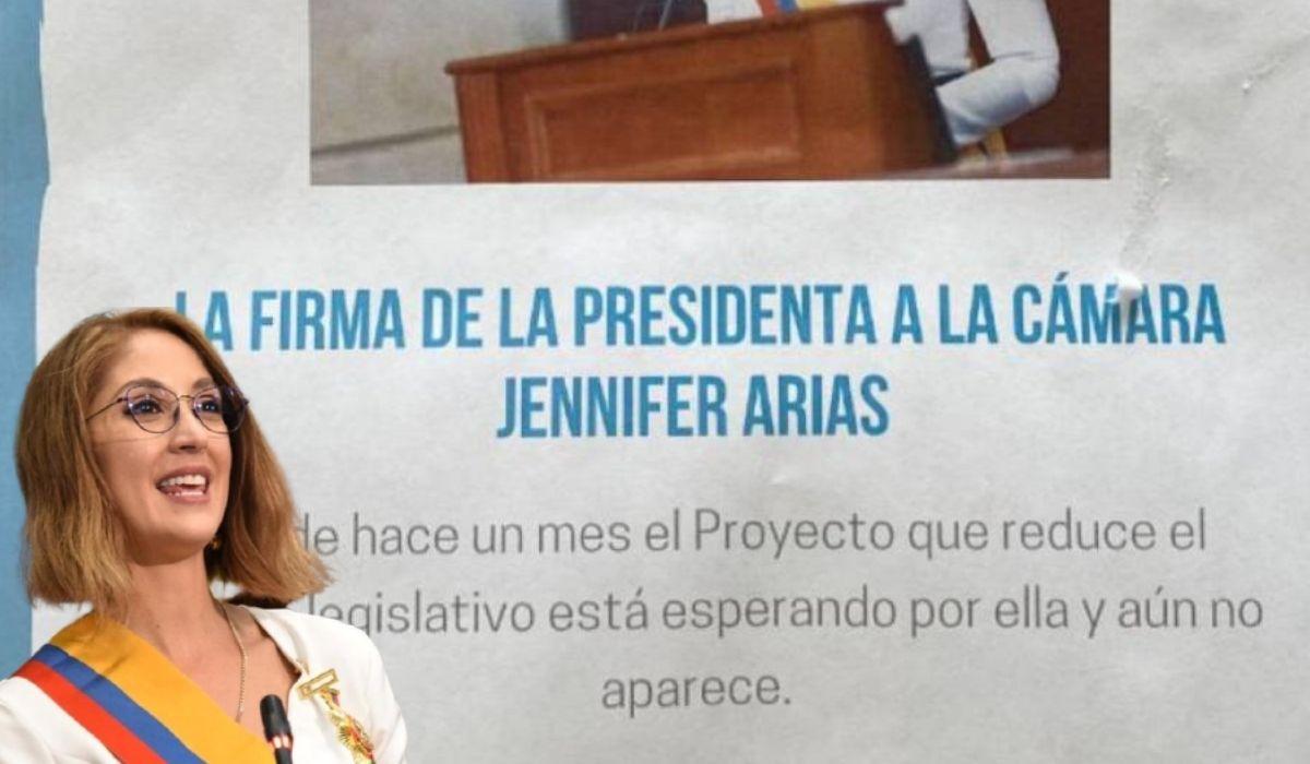 Polémica por la firma de Jennifer Arias