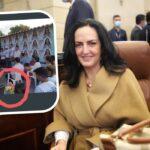 Reviven polémica foto de María Fernanda Cabal