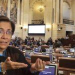 Vulneraron oficina de Aída Avella en el Congreso